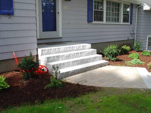 Stair Designs 187 Granite Steps